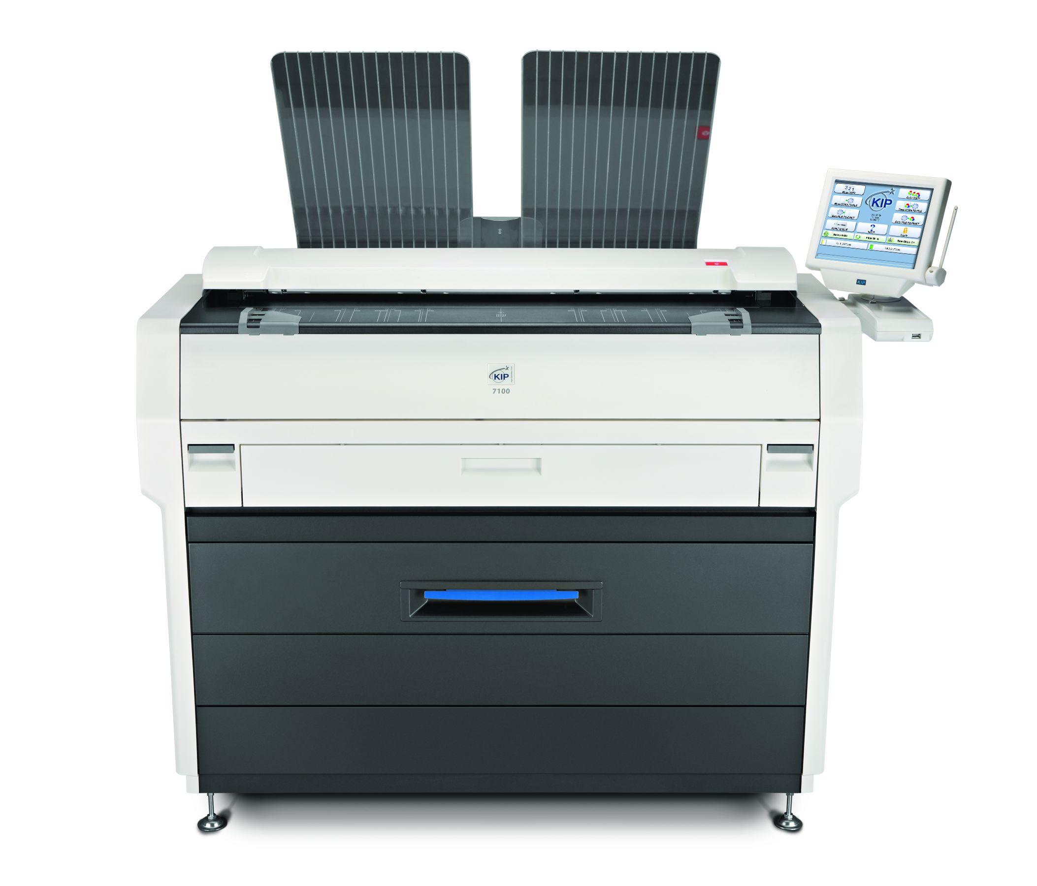 KIP蓝清7770/7970D工程复印机